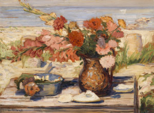 Floral Bounty by the Bay, Dennis, MA, 1936